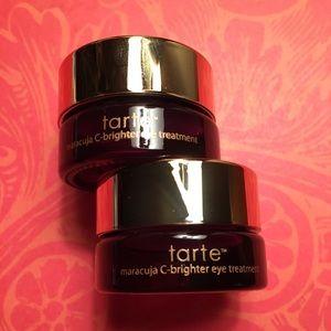 Pair of Tarte C-Brighter Eye Creams